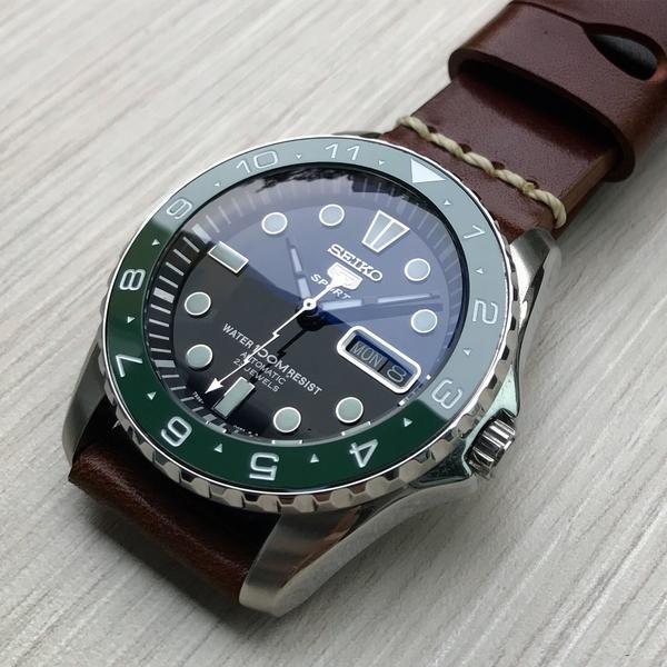Ceramic Insert - Urchin Dual Time Green | Watches v roce