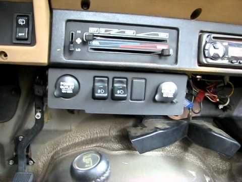 91 Jeep Wrangler YJ With 98 Jeep Cherokee XJ Accessory