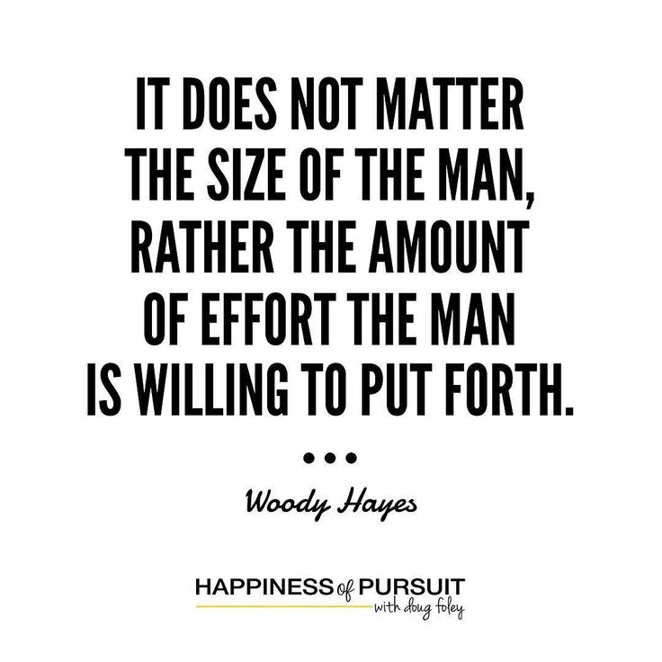 It does not matter the size of the man rather the amount of effort the man is willing to put forth - Woody Hayes  #entrepreneurship #hustle #instagood #instadaily #motivation . When we were kids we were constantly told that you can do whatever you set your mind too. . It was always true the only difference between those that succeeded and those that feel short is who gave up! . Albeit quick we live a long life. There is a lot to be said about effort. . There is no such thing as short…