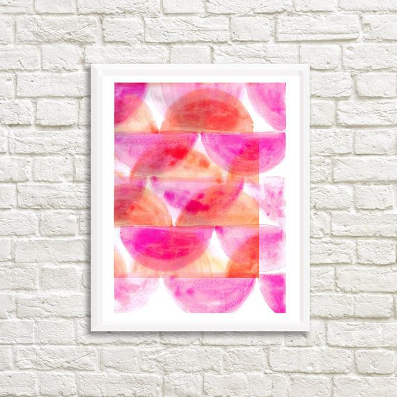Watercolor Abstract 25 x 35 High resolution by LittleLotusFlowers