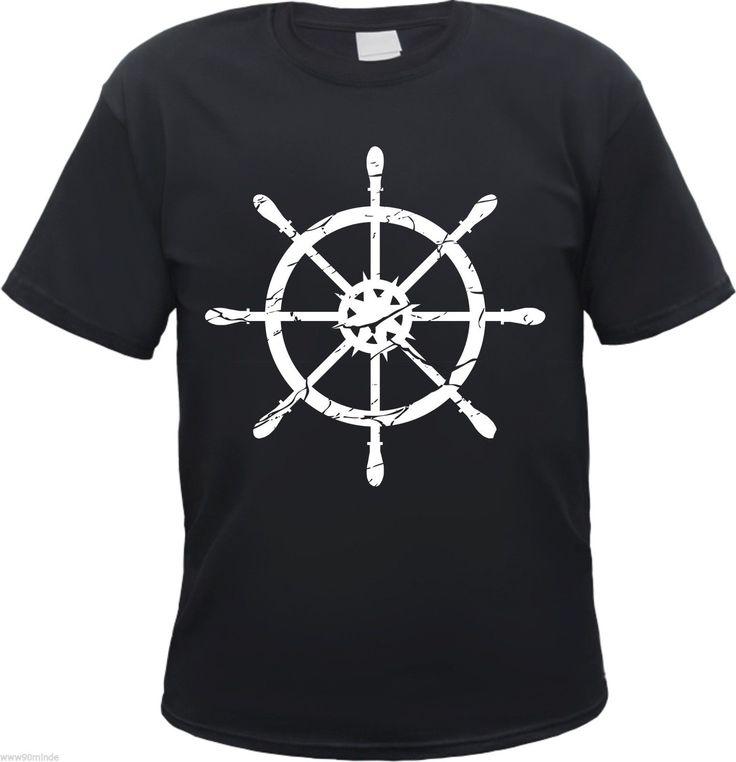 Steuermann / Seemann Shirt Ruderrad
