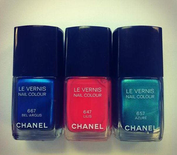 Vernis Chanel n°667-647-657 Sortie en Avril 2013