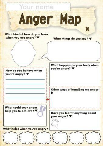 Anger Map - Child Psychology