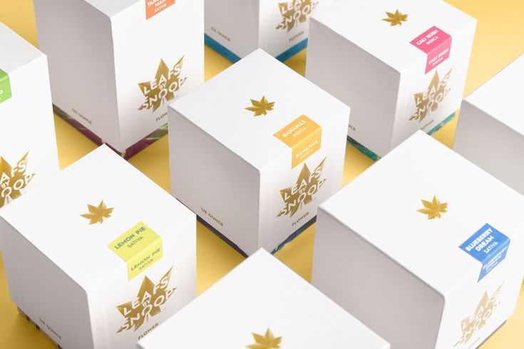 And in other news, luxury marijuana product lines. Impressive packaging for high-end cannabis connoisseurs from Pentagram.