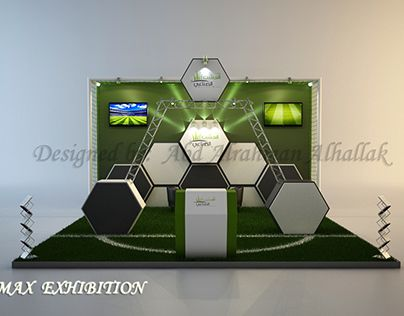 """Check out new work on my @Behance portfolio: """"Stand exhibition_for grass…"""