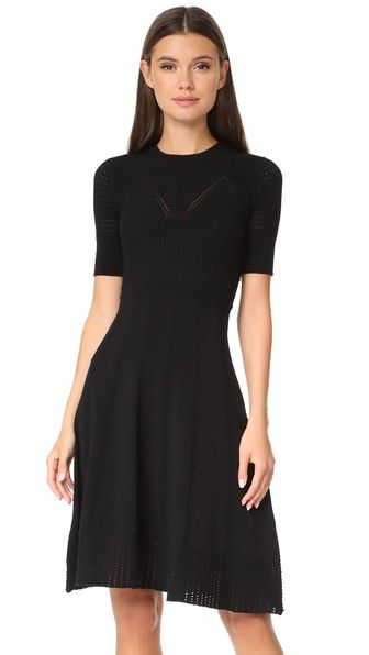 KENZO Knee Length Fit & Flare Dress. #kenzo #cloth #dress #top #shirt #sweater #skirt #beachwear #activewear