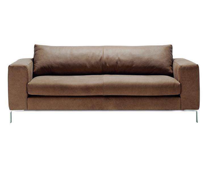 Nova 3 Seater Sofa (Hydra Toffee) - Sofas | Weylandts