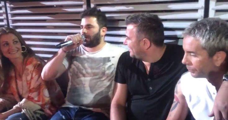 Ο Παντελής Παντελίδης τραγουδάει παρέα με Ρέμο-Θεοδωρίδου στο Μαζωνάκη! (Βίντεο) #greekmusic