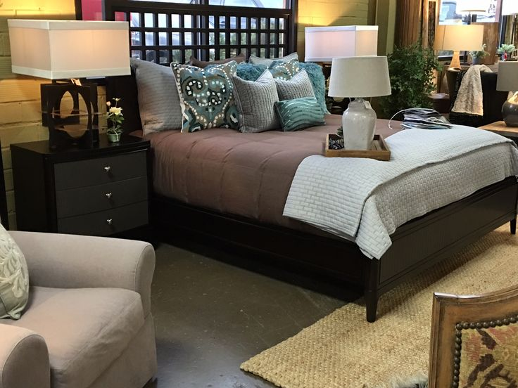 It's where we plan to be in about t-minus 30 minutes....  Need some master suite bedroom inspiration? We carry a few beds in our showroom at a time and can help you find your perfect bed escape if you don't see what you are looking for.