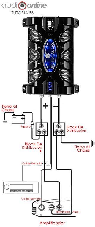 Como Instalar Un Capacitor | Audioonline | La Tienda #1 de Car Audio
