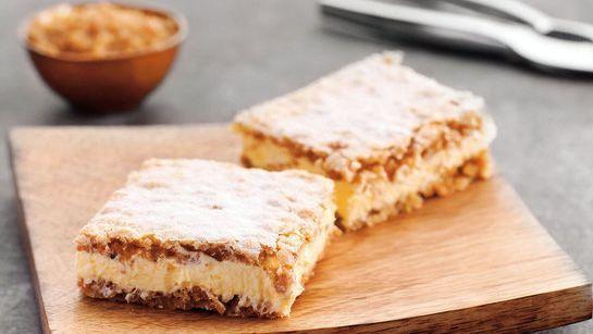 Orechový krémeš - Recept pre každého kuchára, množstvo receptov pre pečenie a varenie. Recepty pre chutný život. Slovenské jedlá a medzinárodná kuchyňa