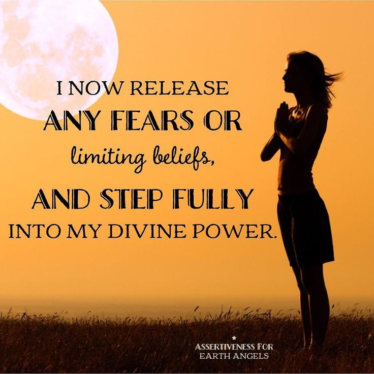 Stepping fully into my divine power