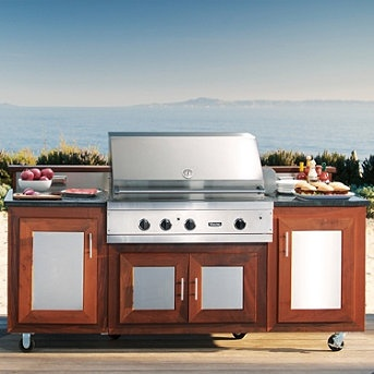 10 best images about viking outdoor kitchen on pinterest for Viking outdoor grill