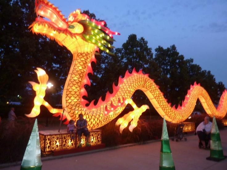 2012 chinese lantern festival missouri botanical gardens Missouri botanical garden lantern festival