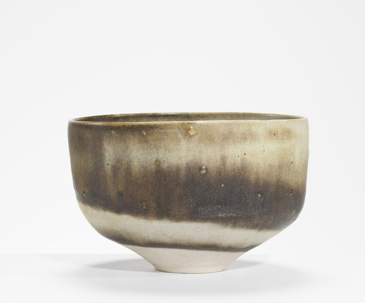 Lucie Rie  Bowl with Spiral Clays, 1960s Stoneware, 10.2 cm (h)