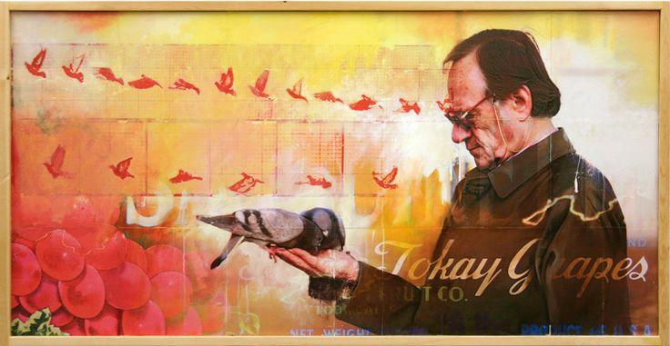 creation-of-birds.jpg (850×441) #MixedMedia #BryanHolland