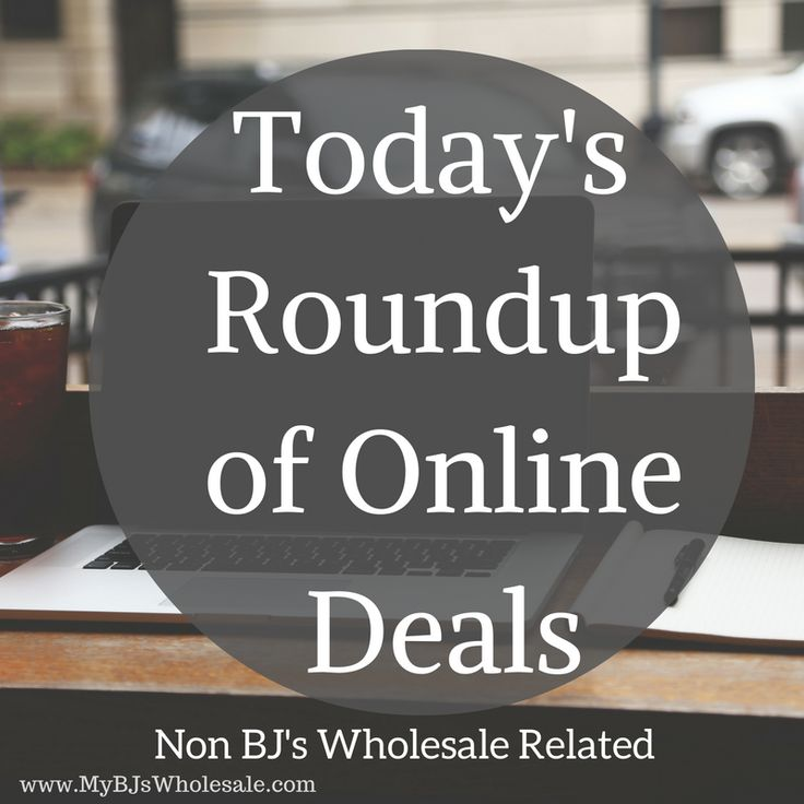 Today's Roundup of Online Deals ( Non BJ's Related)  Hey friends! With the Holiday Shopping season in full swing I want to try to give you a daily roundup of online deals that are not to BJ's. So if you enjoy this post share it, comment so I can know if this is something worth my time that you are enjoying.  Powered by Dealspotr | Additional... - http://www.mybjswholesale.com/2016/11/todays-roundup-online-deals-non-bjs.html/