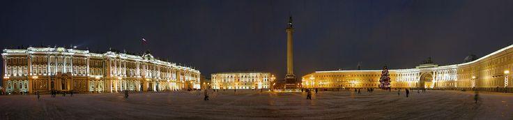 PalaceSquareNight - Saint Petersburg - Wikipedia, the free encyclopedia