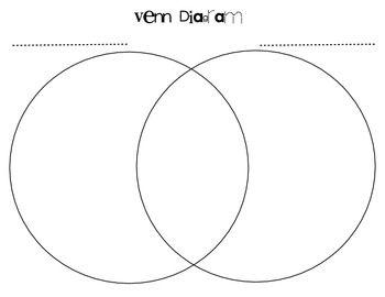 the 25 best venn diagram printable ideas on pinterest Make Your Own Venn Diagram Venn Diagram PDF