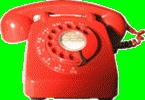 Red 706 telephone, 1960s
