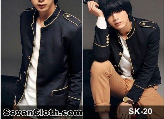 jual jas blazer jaket korea murah online (sk 20)