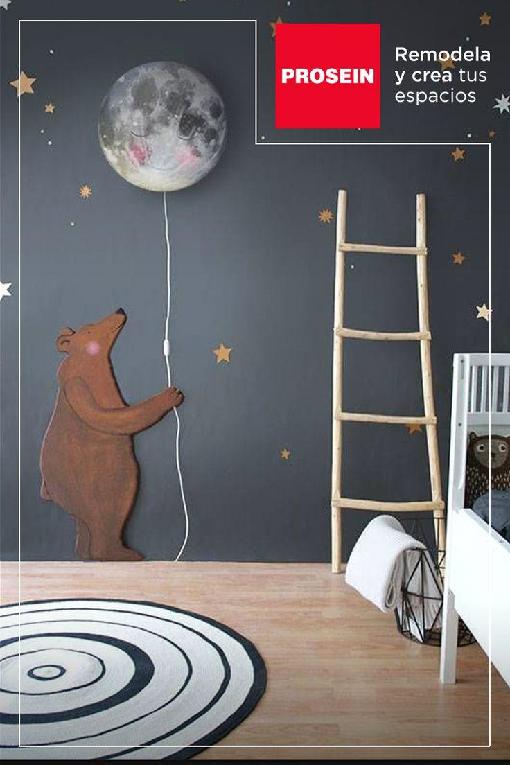 Pregúntales a tus hijos que colores desean a la hora de decorar su habitación. Recuerda que sus preferencias son importantes.