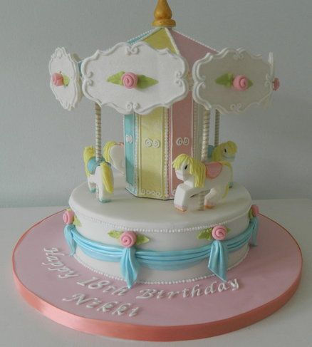 Carousel Cake para bebé