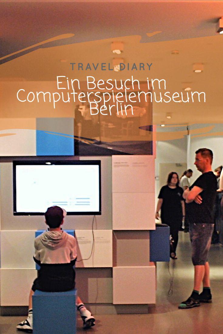 """Travel Diary: Ein Besuch im """"Computerspielemuseum Berlin"""" Sonntag, 8. Oktober 2017  Bereits vor längerer Zeit habe ich euch einen Blogpost zu unserem Kurztrip nach Berlin geschrieben, in dem ich euch erzählt habe, was wir alles unternommen haben. Darunter war auch das Computerspielemuseum und ich habe gesagt, dass ich euch darüber noch einmal genauer etwas erzählen werde. Und nun ist es soweit - Besser spät, als nie. :D"""