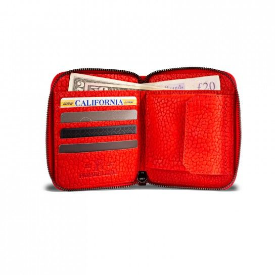 Parabellum Collection - Courier Wallet Tomato / Black - Wallets