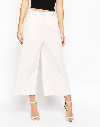 Fusta pantalon lunga eleganta