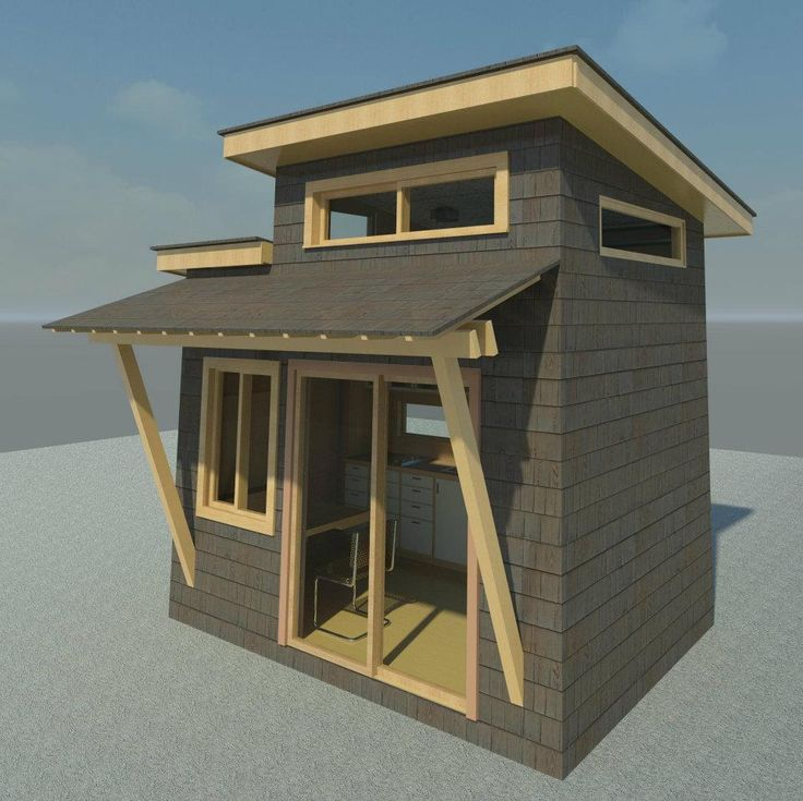 123 best images about tiny houses modern on pinterest for Prefab portico kits