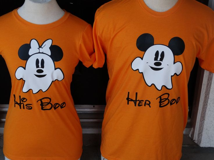 Free Shipping for US Disney Inspired Mickey and Minnie Ghost Couples  shirts. by DsWishingWell on Etsy https://www.etsy.com/listing/235316440/free-shipping-for-us-disney-inspired