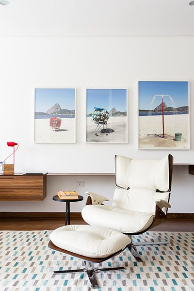 Modern chair in unique AA House in Sao Paulo, Brazil by Pascali Semerdjian Architects