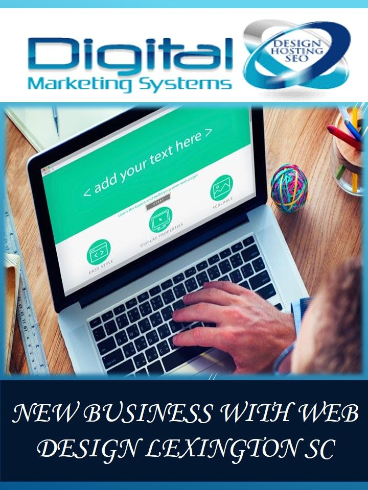 You Can Now Your New Business With The Help Of Websites And Can Make It To The International Markets New Busine Web Design Web Design Company Marketing System
