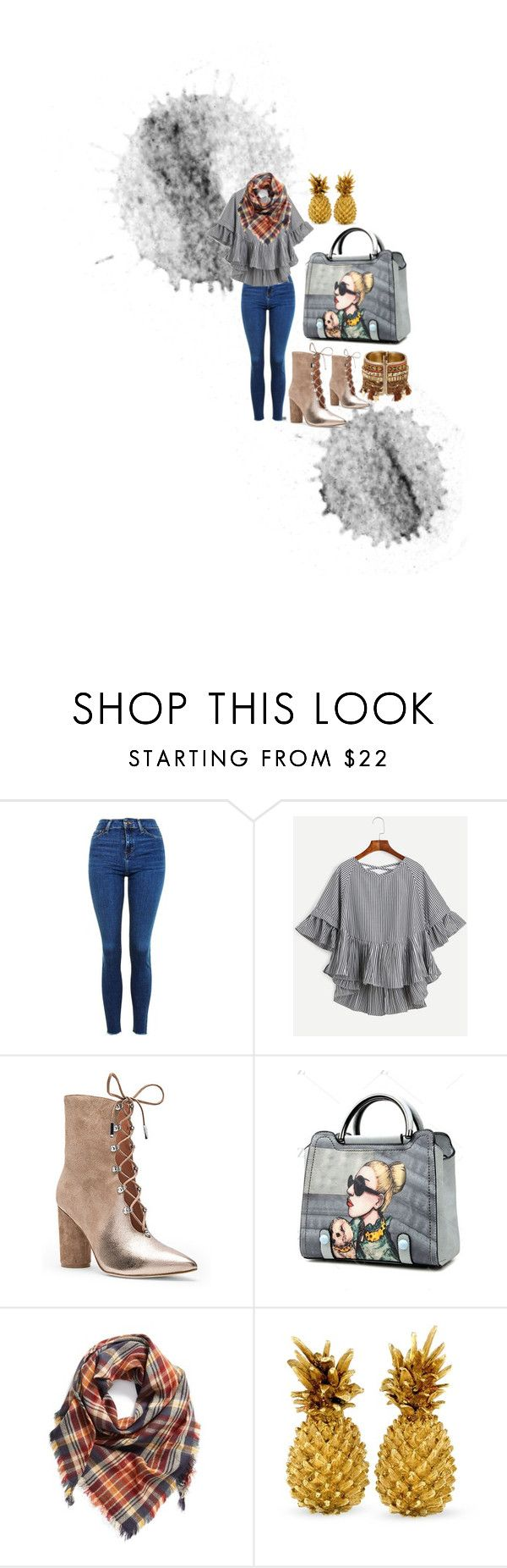 """""""Get In The Grove"""" by coutureejada on Polyvore featuring Topshop, Sigerson Morrison and BP."""
