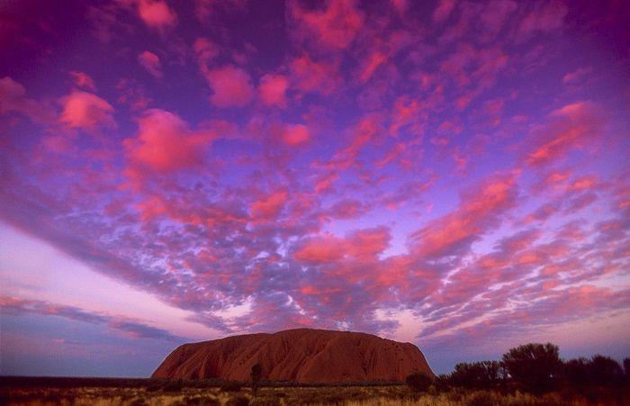 Uluru at sunset is unbeatable