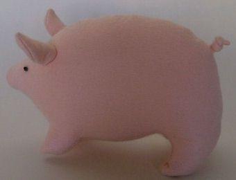 #DIY #Tutorial Felt Piggy