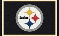 Pittsburgh Steelers Area Rug National Football League Rugs | Nfl Mats | Sports Logo Rugs
