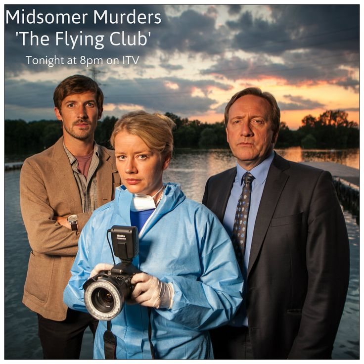 Don't Miss the latest episode of Midsomer Murders tonight at 8pm on ITV.