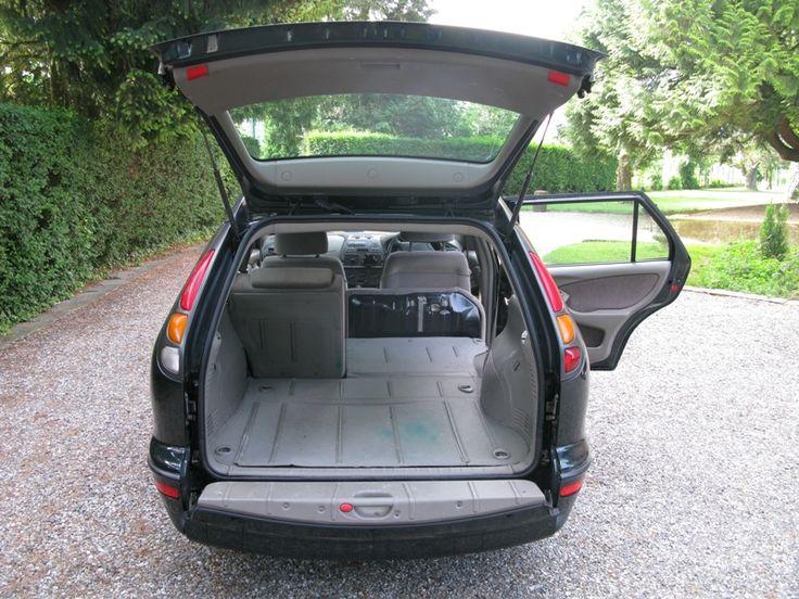 Fiat Marea Weekend, neergeklapte achterbumper