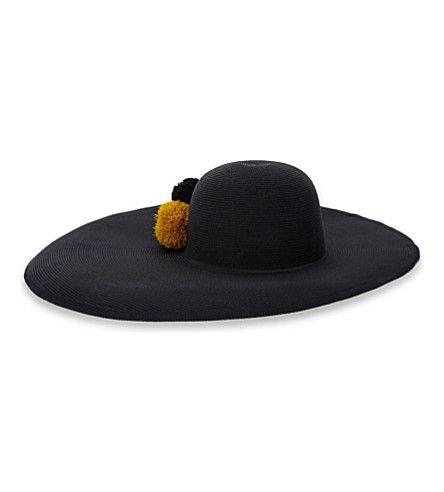 EUGENIA KIM Sydney Aysmmetric Sunhat. #eugeniakim #hats