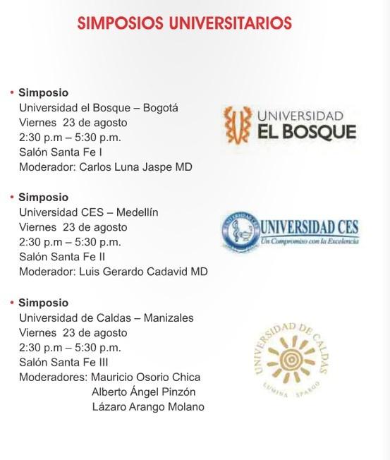 Simposios Universitarios - Asociación Colombiana de Cirugía
