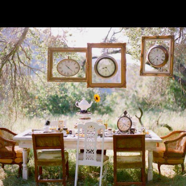 I love the framed clocks! set?
