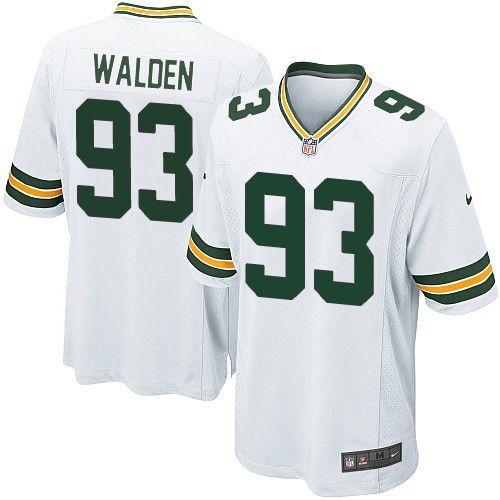 Nike Elite Green Bay Packers Erik Walden 93 White NFL Jersey for Sale Sale