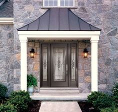 Image Result For Awnings Over Doors On A Tudor House Porch Roof Design Front Door Overhang Front Door Canopy