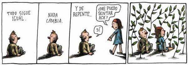 Liniers. Amistad. Amor
