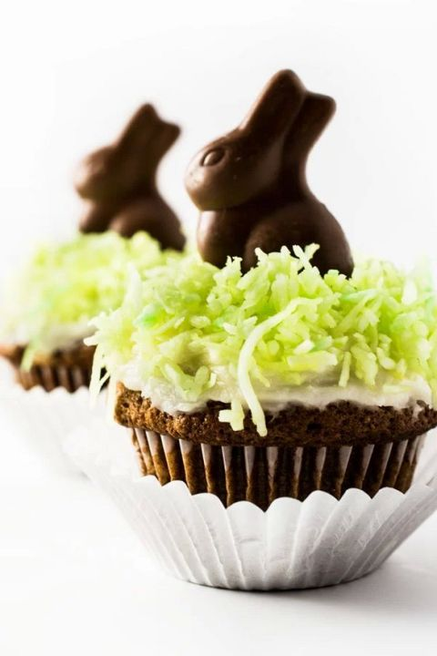 Celebrate the holiday with something sweet. Click through for more Easter cupcakes that are almost too cute to eat.