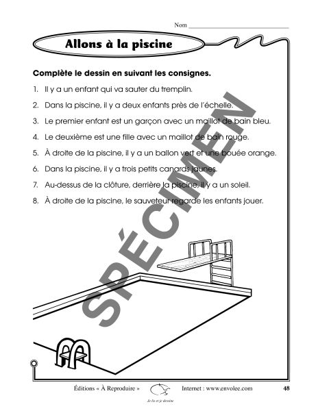 Je lis et je dessine - Éditions de l'Envolée