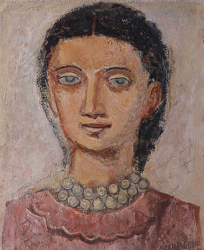 Massimo Campigli, Testa di Donna, 1932