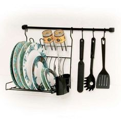 Escorredor de louça de parede http://www.mobly.com.br/suporte-para-cozinha-com-escorredor-preto-146615.html